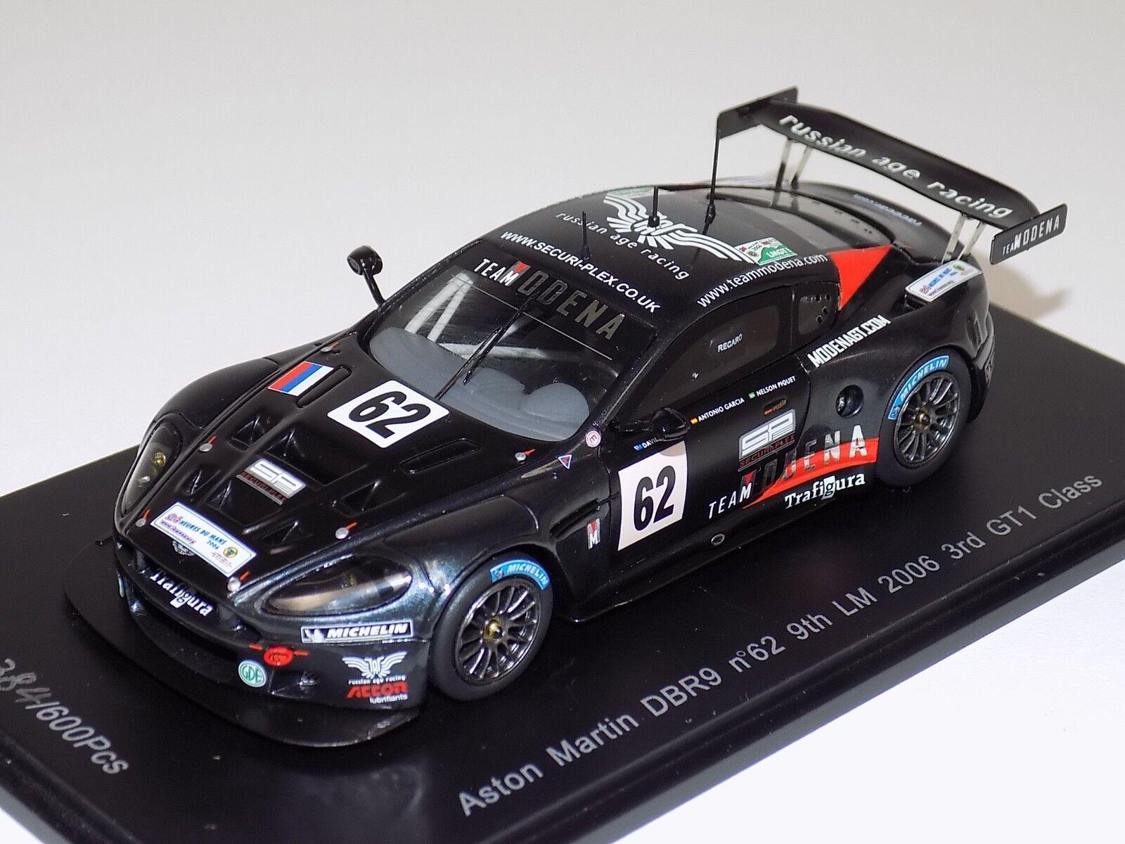 1 43 Spark Models Aston Martin DBR9 horas de LeMans 2006 Lim 600 S1205
