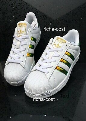 Adidas SUPERSTAR Originals CP9837 or blanc irisé Toutes Tailles Uk New BOXED eBay eBay