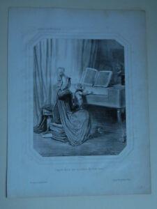Concierto Datos Por Un Niño De Tres Meses Gavarni Thierry Hermanos 1844