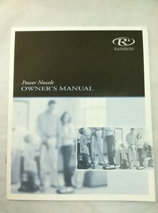 rainbow canister vacuum power nozzle e series e2 original owners rh ebay com rainbow vacuum e series owners manual Rainbow Vacuum Repair Manual