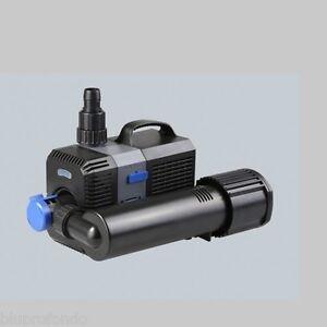 Pompa Acquario Acquari Laghetto Eco 3000 Lt/h Ctp 2800u 10w Con Lampada Uvc 9w Pumps (water)