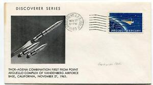 1963 Discover Series Thor-agena Combinationa First Arguello Vandenberg Air Force Fournir Des CommoditéS Pour Le Peuple; Rendre La Vie Plus Facile Pour La Population