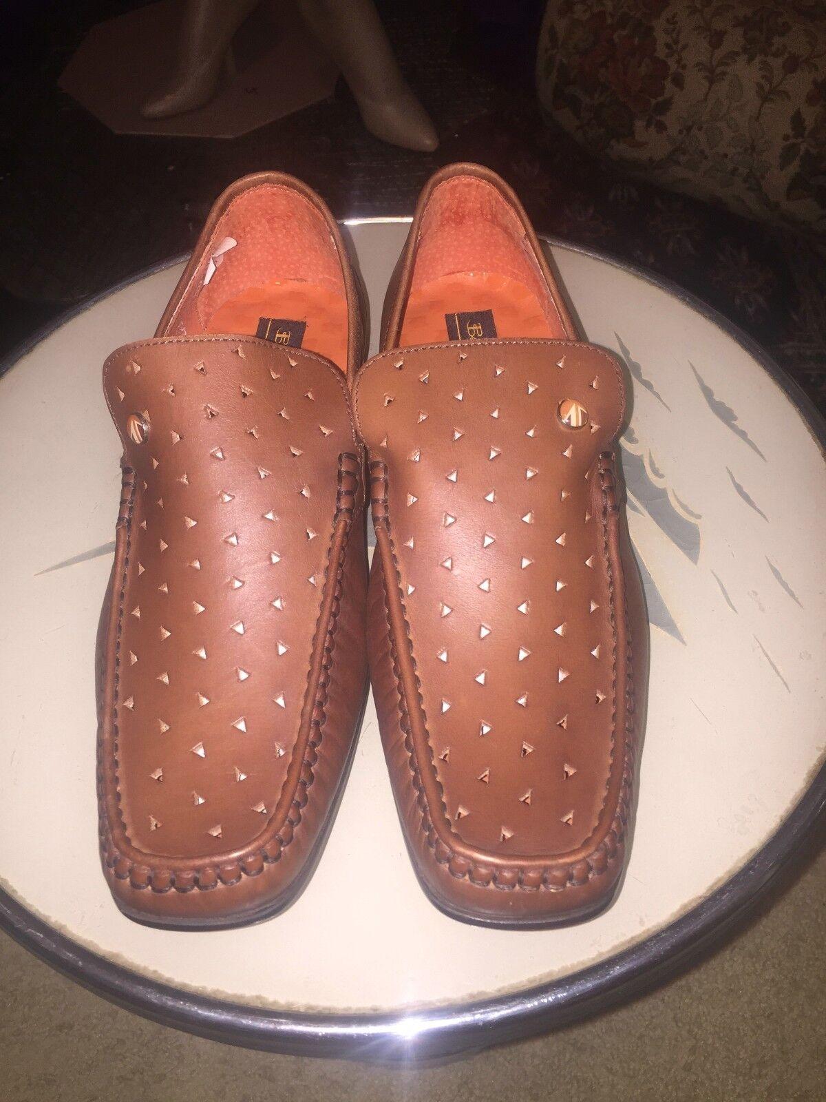 Ben Sherhomme, Berwick cognac chaussures, View Factory.