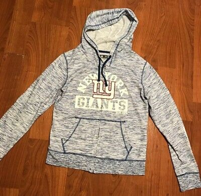 competitive price 1de18 41753 Womens NFL NY Giants Hoodie Zip Up Blue Size M | eBay