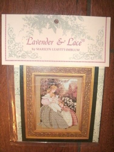 """/""""MORNING SONG/"""" BY Lavender and Lace COMPLETE CROSS STITCH MATERIALS"""