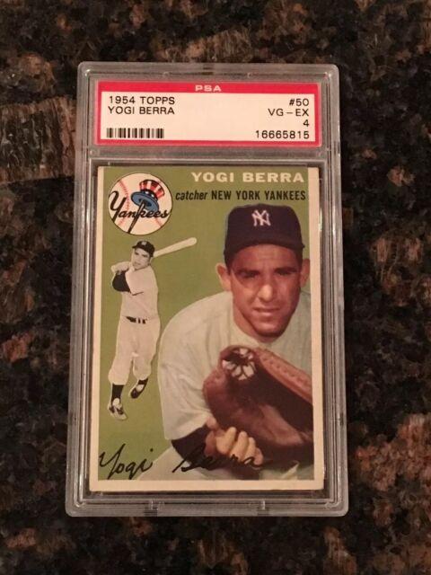 1954 Topps Yogi Berra 50 Baseball Card