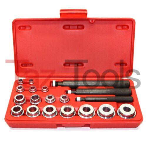 20 Pc Bushing Seal Installer Remover Bearing Race Set Driver Tool Kit Automotive