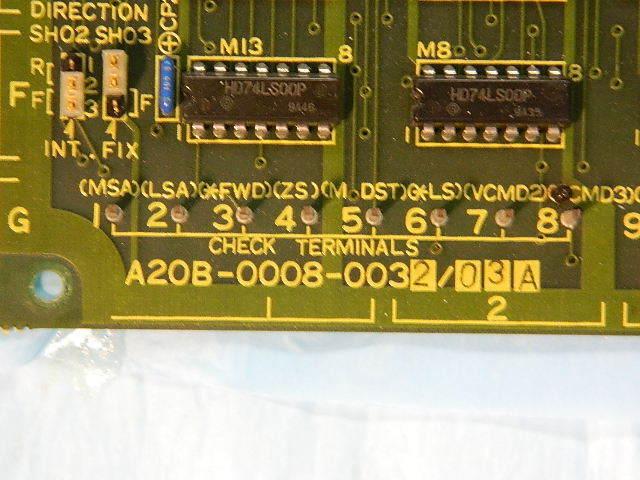 FANUC Spindle Orientation PCB Board A20b-0008-0032 / 03a