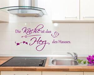 Wandtattoo-Die-Kueche-ist-das-Herz-des-Hauses-Sticker-Aufkleber-Spruch-Zitat