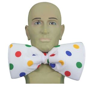 Adults-One-Size-Children-in-Need-Polka-Dot-Elasticated-GIANT-Bow-Tie-CIN