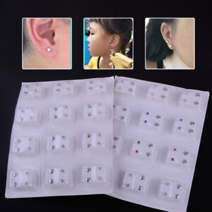 24pcs-Earrings-Piercing-Tool-Kits-Ear-Piercing-Stud-Surgical-Steel-Ear-Studs