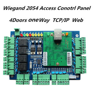 Details about IE Web Access, Access Control Board, door controller Board  With Free Software