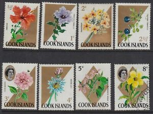 Cook-Islands-Flowers-Normal-Paper-1967-UUH-MNH