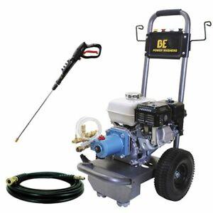 Be Semi Pro 3000 Psi Gas Cold Water Pressure Washer W