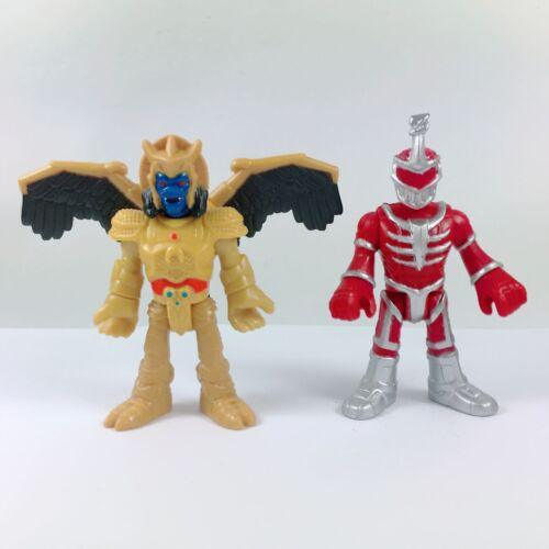 Lot of 2pcs Fisher-Price Imaginext Power Rangers Goldar and Lord Zedd Boy Gift