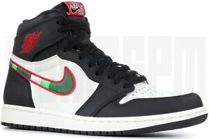 7041957c75b8 Nike AIR JORDAN 1 RETRO HIGH OG A STAR IS BORN BLACK RED ...