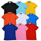 Tommy Hilfiger Polo Shirt Mens Custom Fit Interlock Short Sleeve Knit Flag Logo