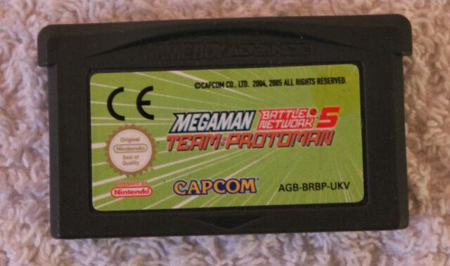 Megaman Battle Network 5 - Team Protoman (Nintendo Game Boy Advance, 2005)