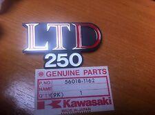 GENUINE KAWASAKI  Z25 LTD  KZ250 LTD EMBLEM,SIDE PANEL  56018-1162  NEW