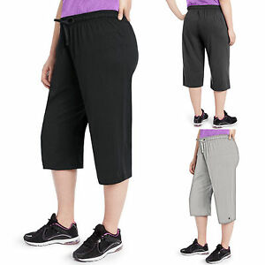 e150637816b5 Champion Plus Size Work Out Capris Pants - QM1242 - BUY TWO GET ...