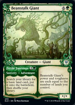 MTG x4 Shepherd of the Flock SHOWCASE Throne of Eldraine Uncommon NM//M