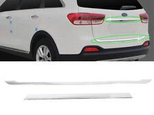 Rear Trunk Lid Chrome Garnish Molding  For 2016 2018 Kia Sorento ALL NEW SORENTO
