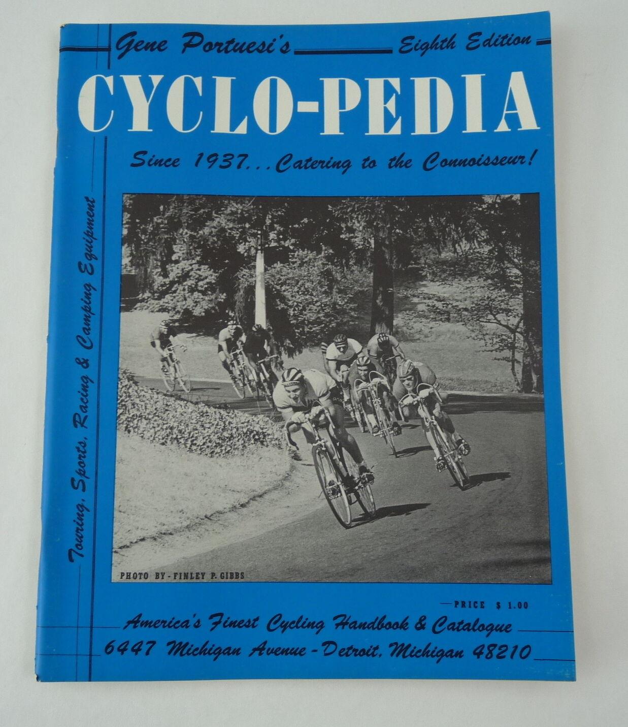 Cyclo-Pedia eighth ed. catalog  1968 Gene Portuesi's Cyclopedia Cyclo 8th NOS