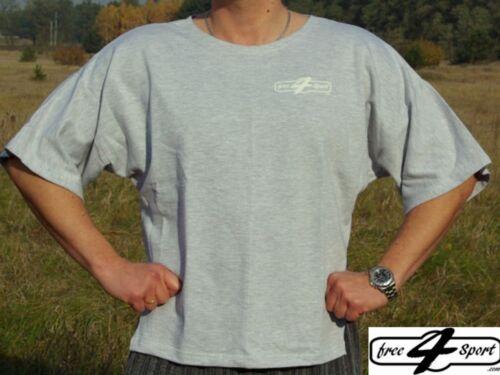 graues T-Shirt BW Bodybuilding Fitness Free4Sport bei 3KinX