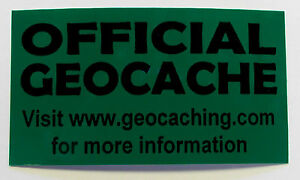 3-x-Cache-stickers-for-Geocaching-black-print-on-green-sticker