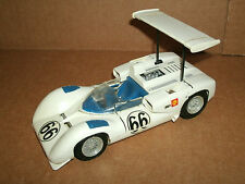 Vintage 1970's 1/25 Scale Chaparral 2E #66 Pre-Built Race Car Model Kit  IMC 116