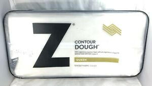 Pillow-Contour-Queen-Malouf-Gel-Dough-with-Tencel-Fabric-Cover-NEW