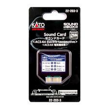 KATO Kat222033 HO Siemens Acs-64 Electric Sound Card