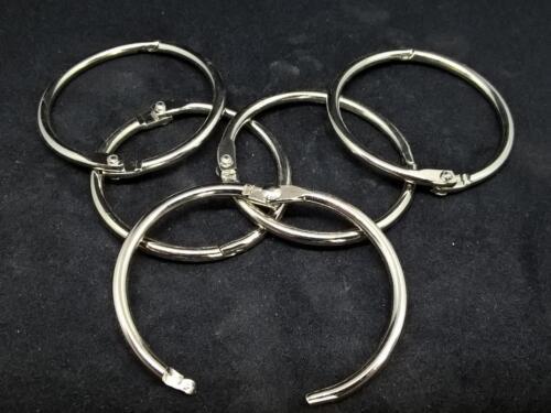 Quality split//key rings//holders sprung steel brass or stainless jailers rings