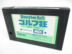 MSX-GOLF-KYO-Cartridge-only-Japan-Video-Game-msx