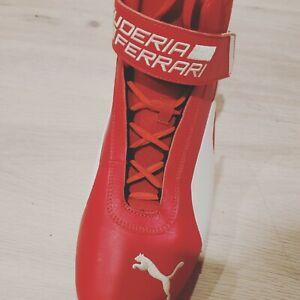 Men-039-s-Puma-Scuderia-Ferrari-R-Cat-Mid-Motorsport-Shoes-339938-High-Top-Red-Sz12