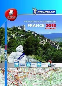 Good-France-2015-Michelin-tourist-amp-motoring-atlas-multiflex-Michelin-Touri