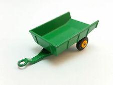 Moko Lesney Matchbox 1-75 Series 51 Green Farm Tipping Trailer Near Mint