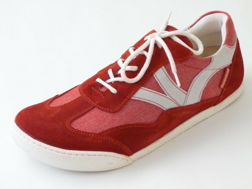 Footprints by til Schweiger shoes Trainers 43 44 45 46 Red White Narrow New
