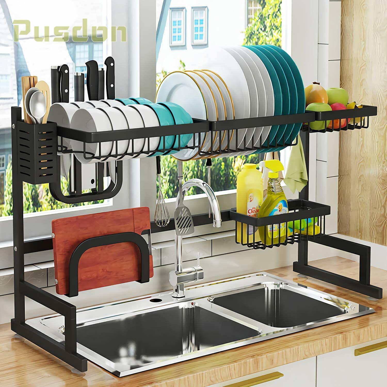 Estante secado pratos sobre el fregadero, Estante Escurridor para cocina