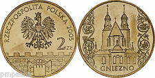 """Poland 2005 - 2 zlotych """"Towns in Poland Series - Gniezno"""" UNC"""