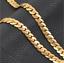 18k-Gold-Kette-vergoldet-Halskette-Panzerkette-Schmuck-Herren-Maenner-Edelstahl Indexbild 2