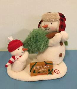 Hallmark Plush Jingle Pals The Perfect Tree Snowmen Singing Dancing 2014 11th