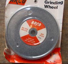 "2 TRW Bench Grinding Wheels 6/"" x 1//2/"" One Medium Wheel and One Fine Wheel"