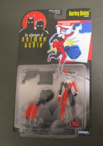 Harley Quinn 1997 THE ADVENTURES OF BATMAN AND ROBIN Kenner MOC