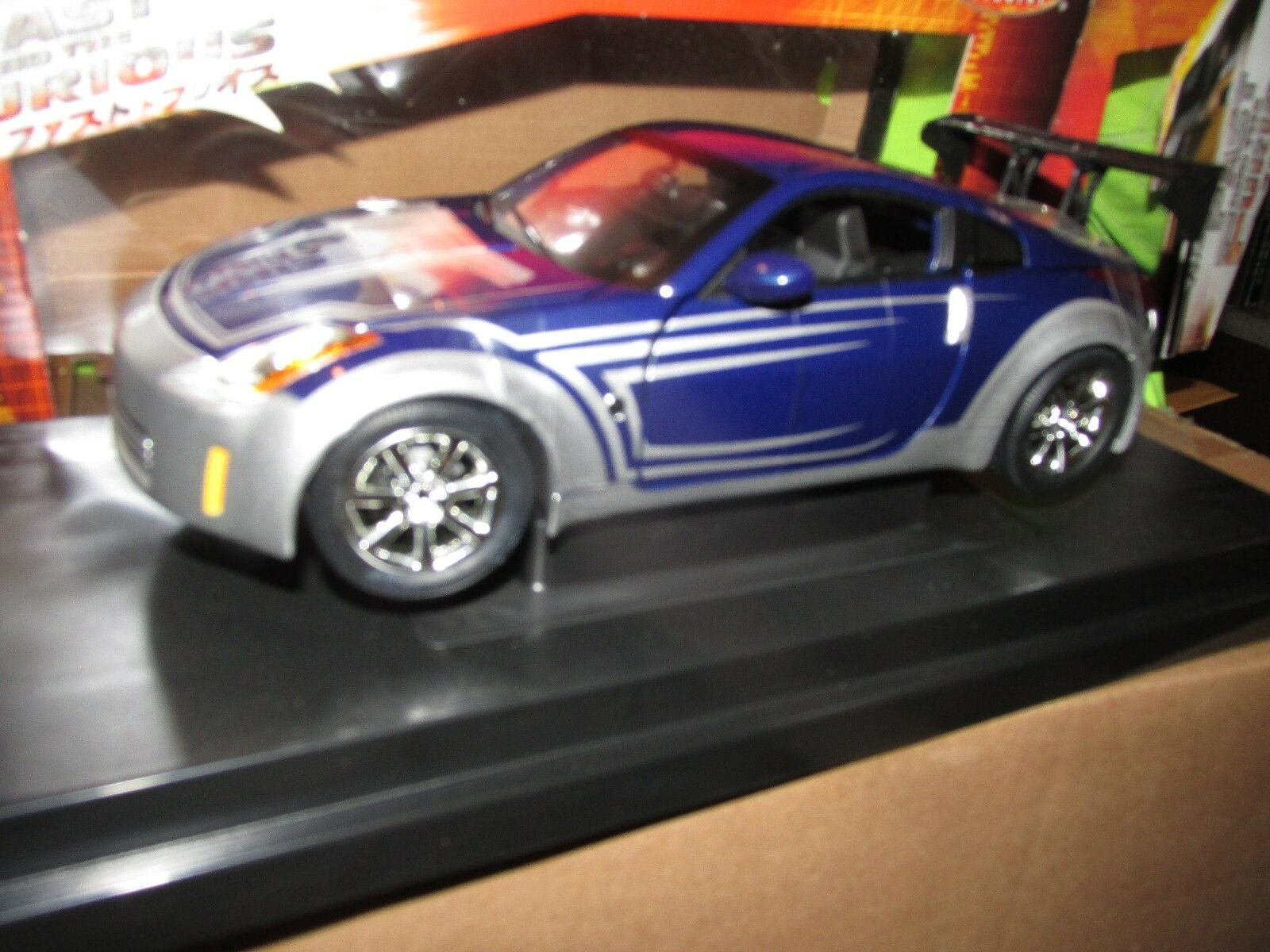 03 Nissan 350z Fast And Furious Toyko Mouvement 1 18 Rcertl Tuner Américain