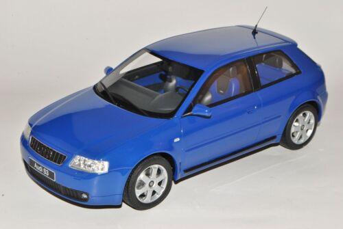 Audi A3 8L Blau 1996-2003 Nr 99 1//18 Otto Modell Auto mit oder ohne individiue..