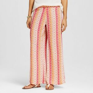 Details About Women S Flora By Rockflowerpaper Palazzo Pants Bottoms Sapphire Pink S M L New