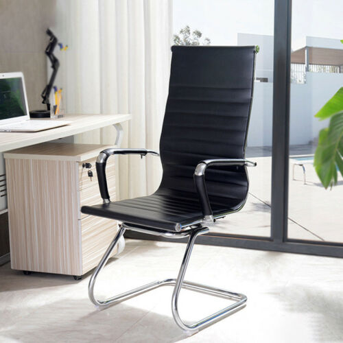PU Leather High Back Home Office Visitor Meeting Boardroom Chair Dining Chairs