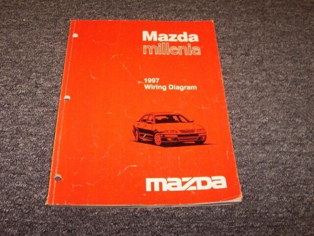 1997 Mazda Millenia Sedan Electrical Wiring Diagram Manual