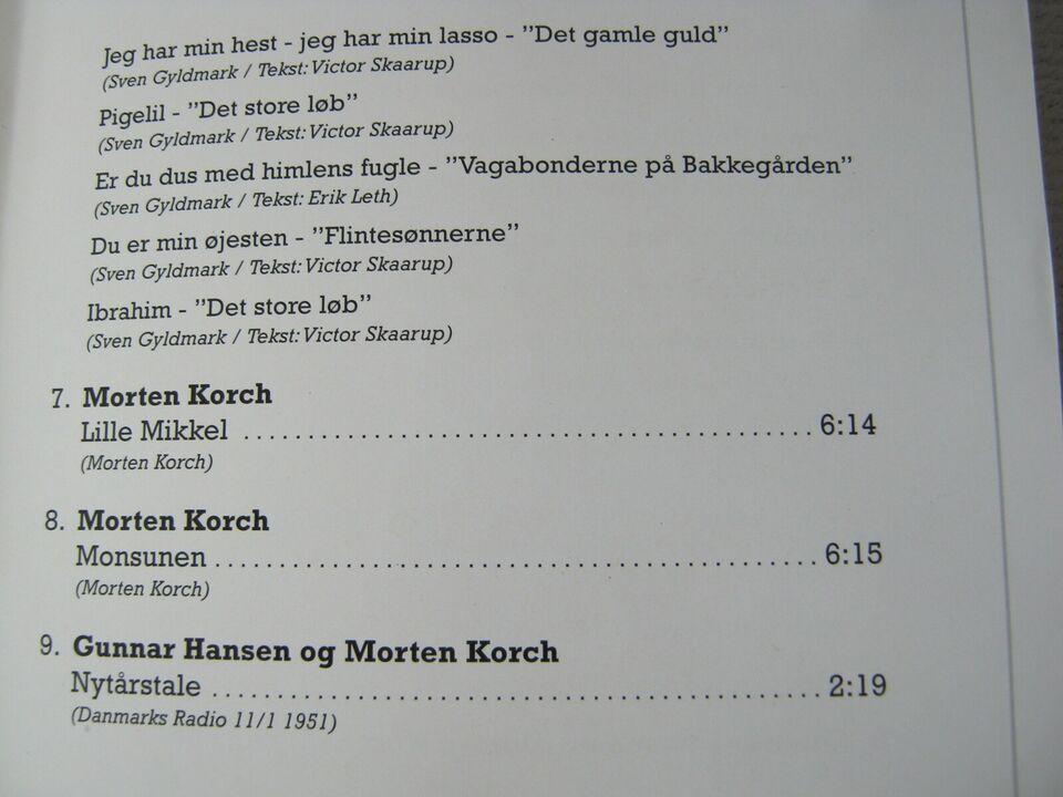 med bla.Poul Richardt:: : En Rose til Morten Korch, andet